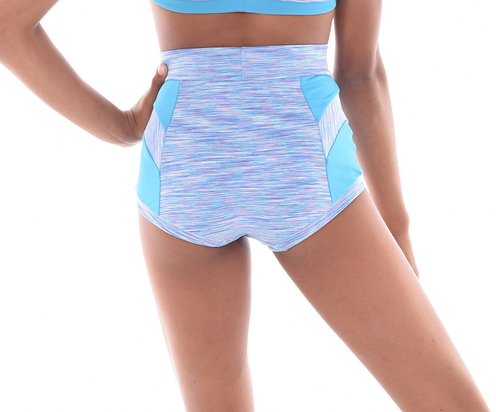 Convention Alluring Micro Mix High Waist Hot Shorts - Girls & Adults
