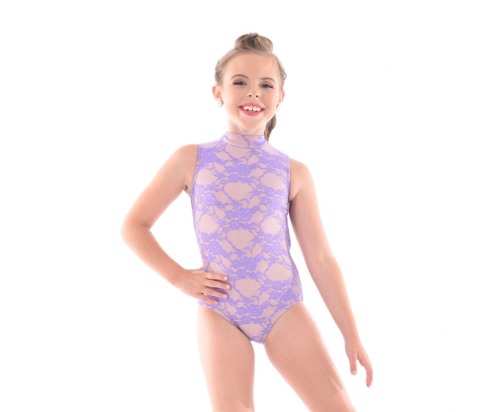 Classic Lace Overlay Bodysuit - Childs
