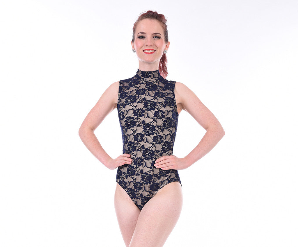 Classic Lace Overlay Bodysuit - Adults