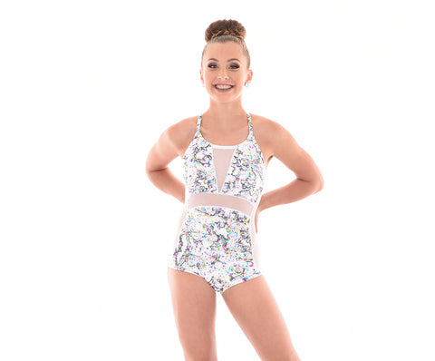 Kaleidoscope Splash Riteré Hotsuit - Girls & Adults