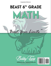 Load image into Gallery viewer, 6th Grade Math Workbook: Topic by Topic Review | Common Core