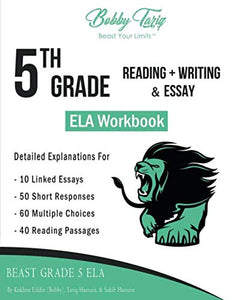 5th Grade Reading + Writing & Essay ELA Workbook