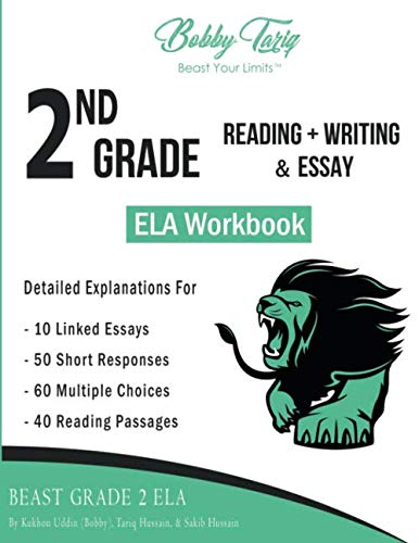 2nd Grade Reading + Writing & Essay ELA Workbook