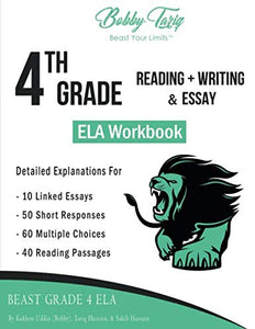 4th Grade Reading + Writing & Essay ELA Workbook