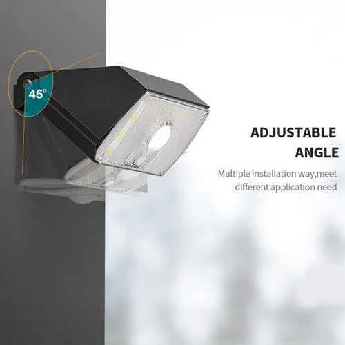 Solar Wall Light with PIR Motion Sensor / 1000 Lumens