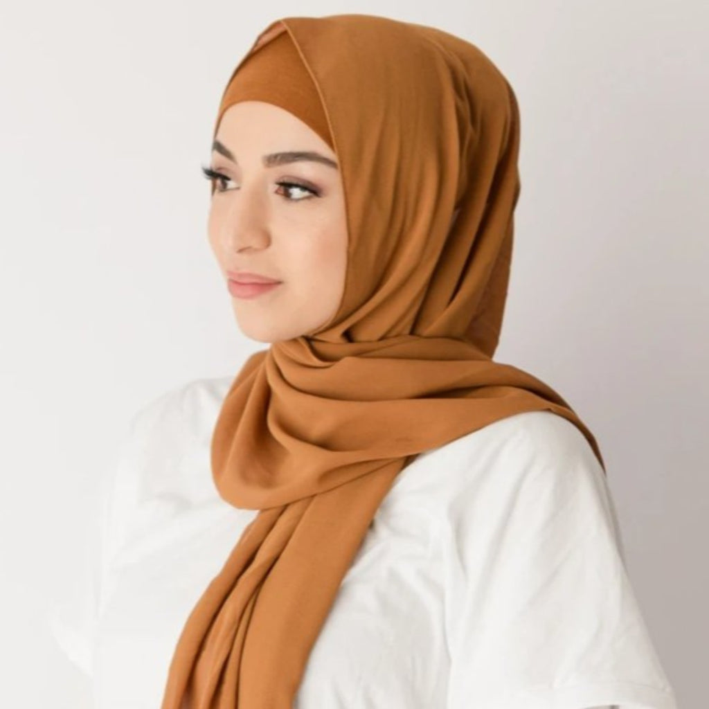 Burnt Mustard Hijab