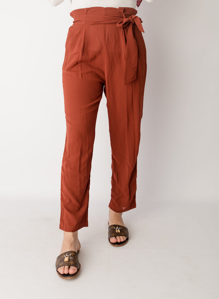 High Waist Brick Pants