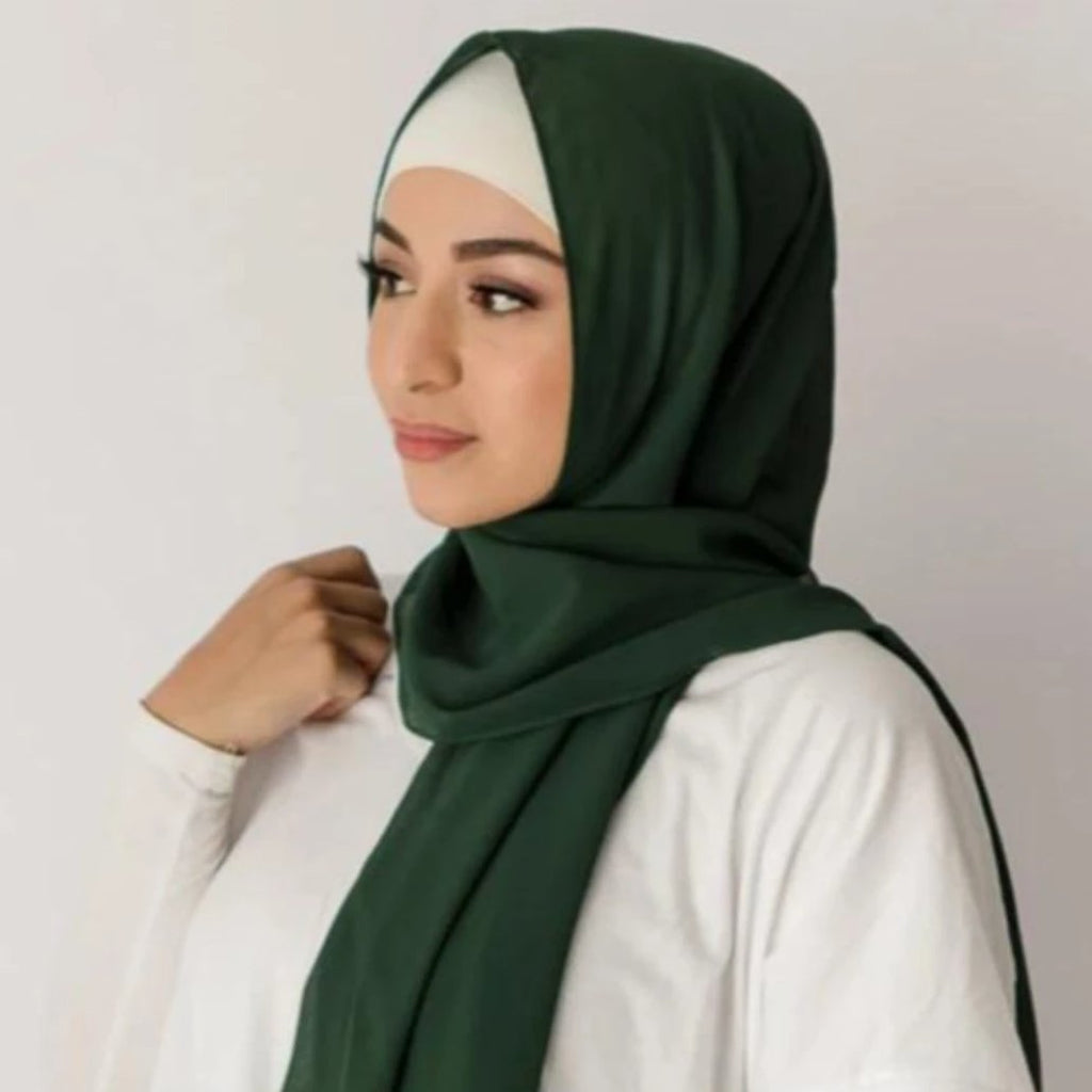 Forest Green Hijab
