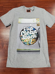 FLIP CLEAN STACK T-SHIRT