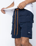 EPTM SNAP CARGO SHORTS - NAVY