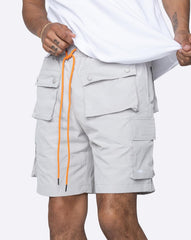 EPTM SNAP CARGO SHORTS - GREY