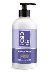 CBD Lotion Relaxing Levendar