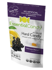 Wellness Blend Hard Candy with Elderberry and Lemon