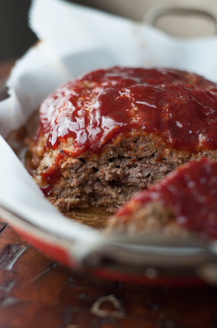 Easy Meatloaf with Smoky Ketchup