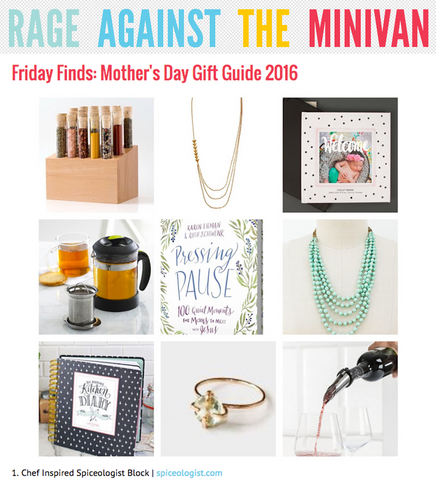 Rage Against The Minivan - Friday Finds for Mother's Day | spiceologist.com