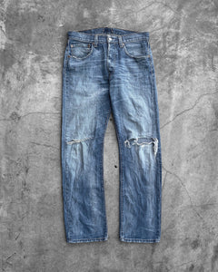 Levi's 501 Distressed Knee Blowout Jeans
