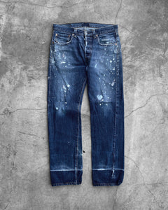 Levi's 501 Distressed Painters Jeans