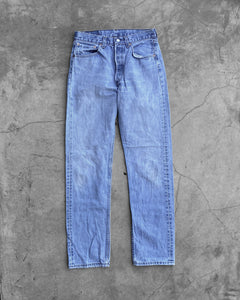 Levi's 501 Light Wash Faded Jeans