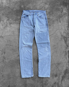 Levi's 501 Faded Patched Jeans