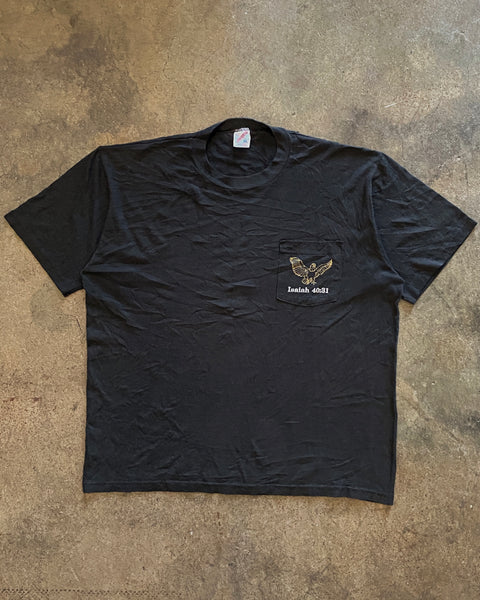 "Jerzees ""They Shall Walk"" Pocket Tee - 1990s"