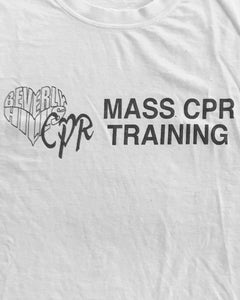 "Single Stitched Beverly Hills ""Mass CPR Training"" Tee - 1990s"