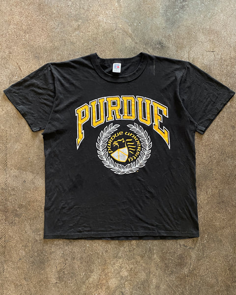 "Russell ""Purdue"" Mounted Collar Tee - 1990s"
