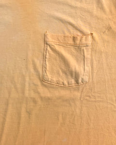 Sun Faded Tangerine Pocket Tee