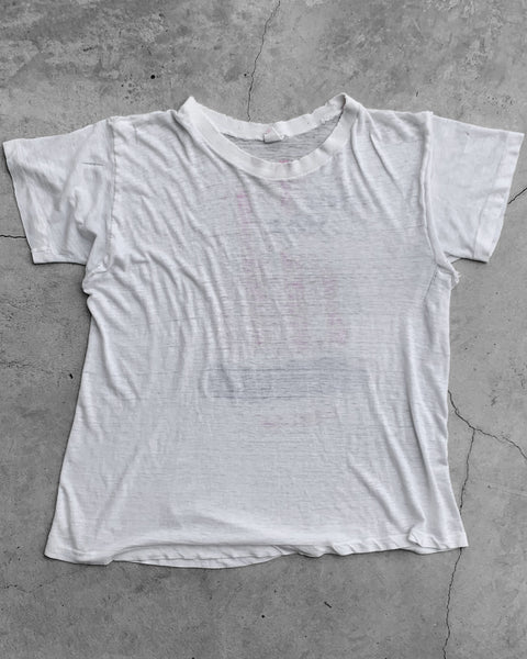 "Single Stitched Paper Thin ""One Way Jesus"" Tee - 1971"