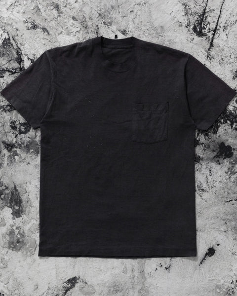 "Single Stitched ""American Image Glass"" Selvedge Pocket Tee - 1990s"