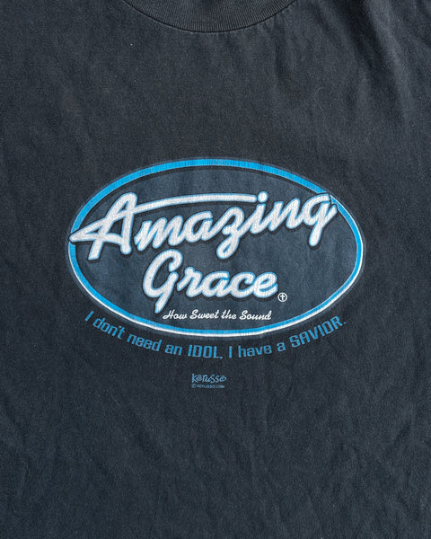 "Faded ""Amazing Grace"" Tee - 2000s"