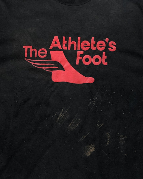 "Jerzees ""The Athletes Foot"" Painted Tee - 1990s"