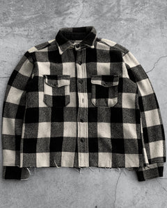 Wool Checked Button Down - 1990s