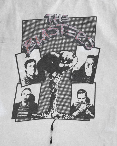 "Single Stitched ""The Blasters"" Band Tee - 1980s"