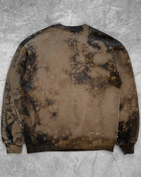Sun Bleached Russell Crewneck- 1990s