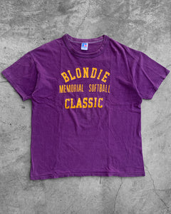 "Single Stitched ""Blondie"" Tee  - 1970s"