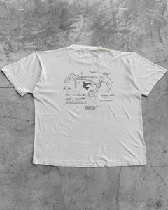"Single Stitched ""Bloomsburg Archaeology Field School"" Tee - 1980s"