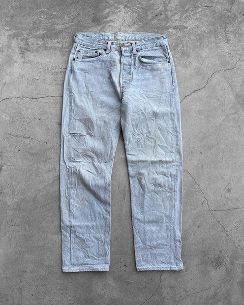Levi's 501 Distressed & Stained Jeans - 1990s