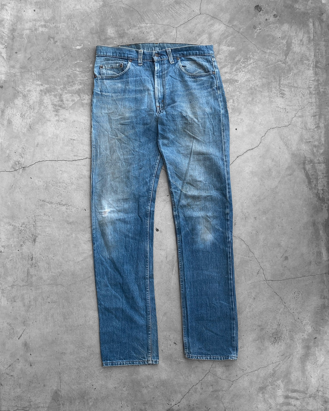 Levi's 505 Mud Wash Jeans  - 1980s