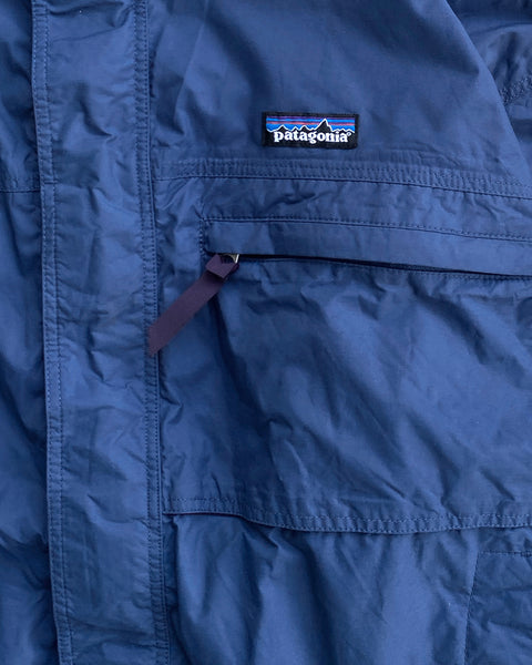 Patagonia Blue Taped Seam Shell Jacket
