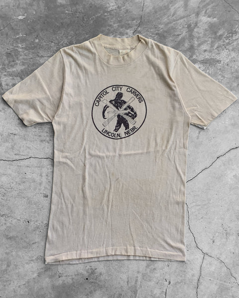 "Single Stitched ""Capitol City Carvers"" Tee - 1970s"