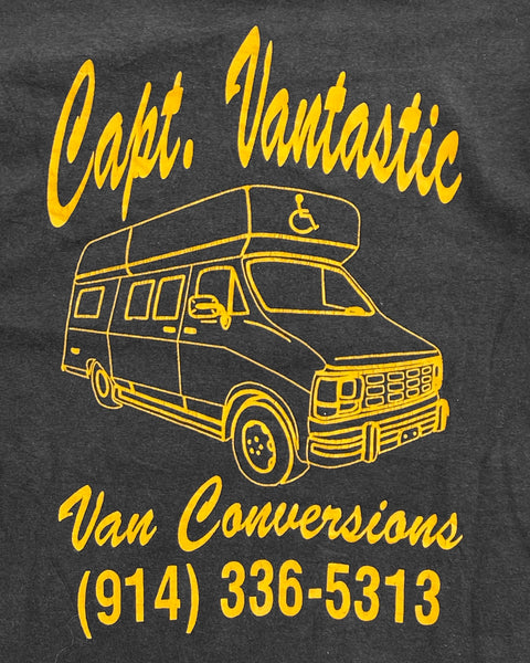 "Single Stitched ""Capt. Vantastic"" Tee - 1990s"