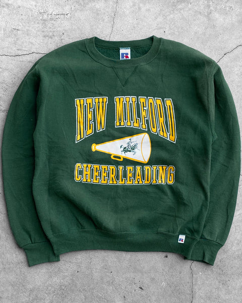 "Russell ""New Milford Cheerleading"" Sweatshirt - 1990s"