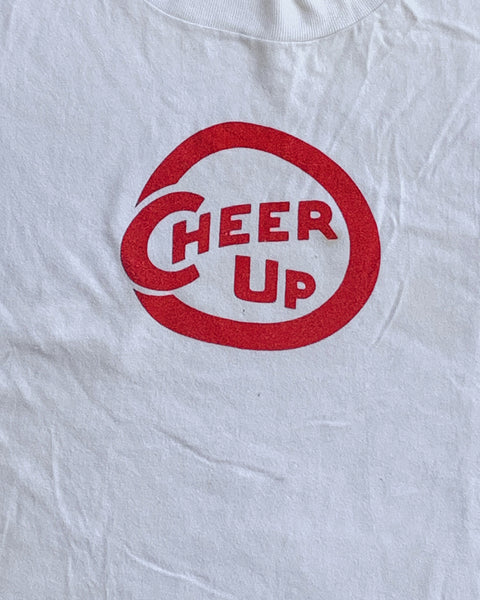 "Hanes Beefy ""Cheer Up"" Tee - 1990s"