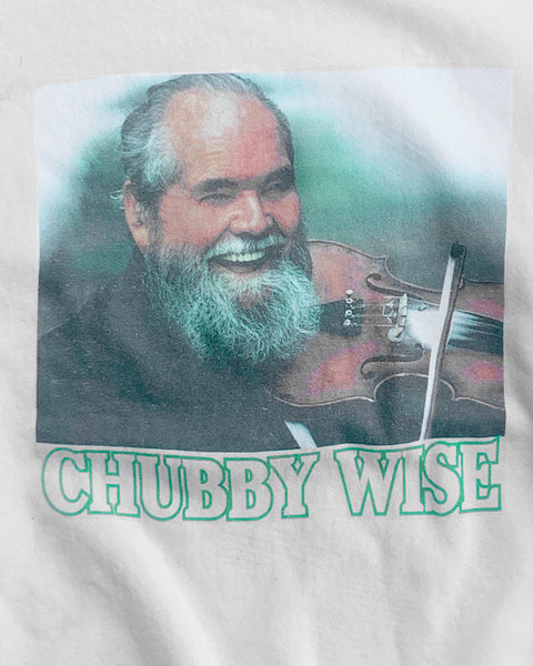 """Chubby Wise"" White Sweatshirt - 1990s"