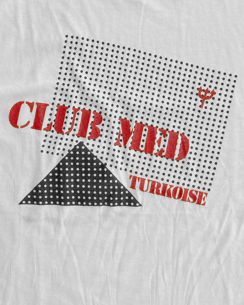 "Single Stitched ""Club Med"" Tee - 1980s"