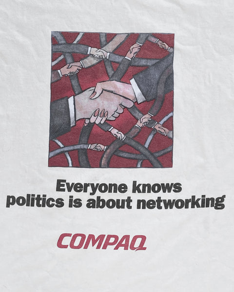 """Everyone Knows Politics is About Networking"" Tee"