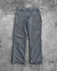 Carhartt Concrete Painted Work Pants - 1990s
