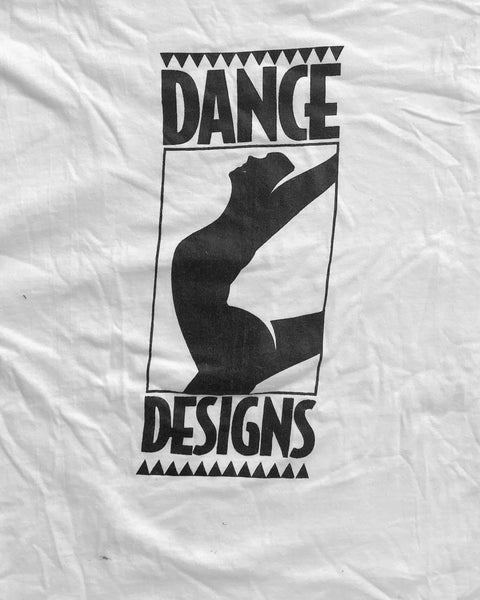 "Single Stitched ""Dance Designs"" Tee - 1990s"