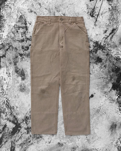 Carhartt Brown Distressed Work Pant - 1990s
