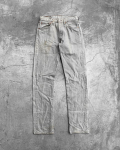 Levi's 501 Discolored Slate Grey Jeans - 1995